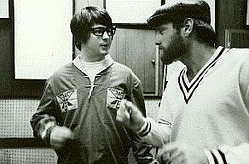Brian Wilson and Mike Love